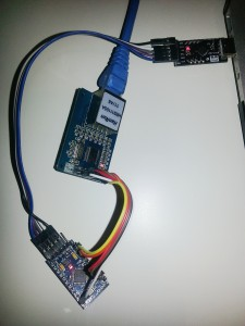 Arduino Pro Mini clone with Ethernet connection