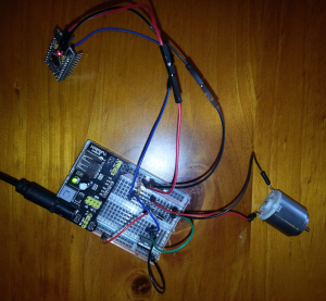 Control motor speed with Arduino