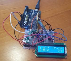 Arduino Prototype of Temperature Driven Fan